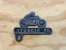 STURGIS FLAT TRACK RACE MOTORCYCLE LICENSE PLATE TOPPER - HARLEY, INDIAN, BSA