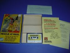 Rescue at Rigel Complete in Box & GREAT COND for Atari Cassette 400 800! Epyx