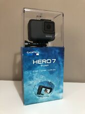 GoPro HERO7 Silver - Waterproof Digital Action Camera Touch Screen 4K HD