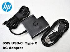 NEW Original OEM 65W USB-C AC Adapter 925740-004 for HP Pro X2 612 G2 / 1012 G2