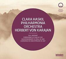 Clara Haskil - Herbert von Karajan conducts Mozart [CD]