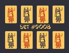 Mah Jongg Jong Mahjong Joker Stickers - Set #900b ** Free Shipping **