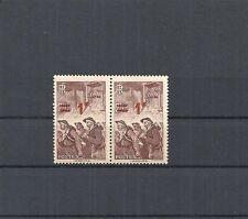 Frankreich 2 France 15 overprint mit 1 F, postfrisch **, Katalogwert € 10