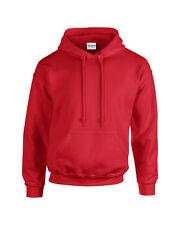 Gildan Adult Heavy Blend Pullover Hooded Sweatshirt Plain Hoodie top