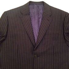 Next Bnwot Navy Pin Stripe Suit Jacket 42 L Unworn