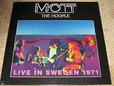MOTT THE HOOPLE - Vivre SUÈDE 1971 - NEUF - LP Record