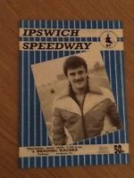 Ipswich V Reading Speedway Programme 18/06/87