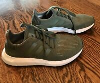 Addidas Tennis Shoes Olive Green Size US 6