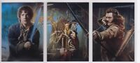 The Hobbit The Desolation of Smaug, Complete 'Collage' Chase Card Set #CP1-3