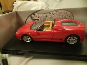 1:18 Hot Wheels Ferrari 360 Spider Red - Used In Very Good Condition