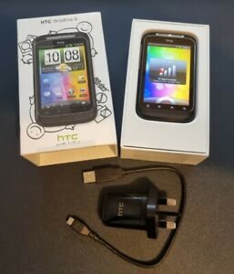 HTC Wildfire S - Black (T-Mobile) Smartphone, Excellent Condition