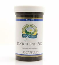Natures Sunshine Pantothenic Acid (100 caps) (ko)
