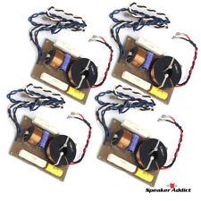 4PACK LX-218 2Way 1.6Khz High Power Passive Speaker Crossover Driver Attn EQ