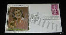 BABE DIDRIKSON ZAHARIAS SILK CACHET 1981 FIRST DAY COVER OLYMPIC TRACK & GOLF