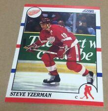 STEVE YZERMAN 1990-91 SCORE Card #3 NM-MT