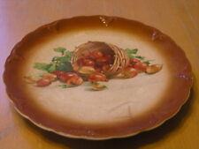 Antique Petrus Regout Co Maastricht Holland De Sphinx Pottery Fruit Basket Plate
