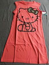 NEW Pajama Shirt Hello Kitty Junior / Women Large Peach