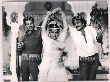 Original Bollywood photo Dharmendra-Vinod khanna In Batwara 1989 16cmX21cm