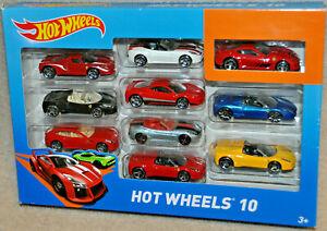 Hot wheels FERRARI Custom 10 Pack Ferrari 599xx Enzo Spider California
