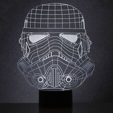 Original Stormtrooper Helmet Lamp Wireframe Light LED USB Desk Official