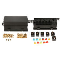 11-Way Fuse Relay Box 18 Way Fuse Relay Holder Box Socket for Car Automotive