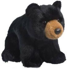 Douglas Cuddle Toys Almond Black Bear #4527 Stuffed Animal Toy