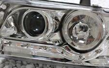 KLARGLAS CHROM SCHEINWERFER SET VW T4 90-96 LED TAGFAHRLICHT TFL LOOK LWR NEU J