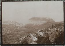 France, Marseille, Vue de la baie, ca.1900, Vintage citrate print Vintage citrat