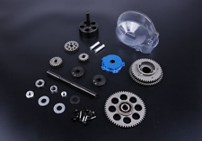 TSRC 3 Speed Transmission Kit with Small Blue gear cover for HPI BAJA 5B 5T 5SC