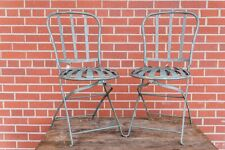 Vintage French Bistro Chair Set