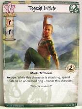 Legend of the Five Rings LCG - 1x #055 Togashi Initiate - Base Set