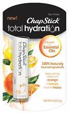 ChapStick Total Hydration Essential Oils Lip Balm Happy Orange + Lemon non tint