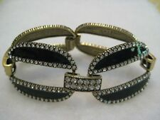 """HEIDI DAUS """"Well Connected"""" 7-1/4""""L. Enamel & Crystal Bracelet (Orig.$169.95)"""