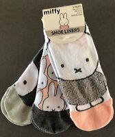 3 Paar Miffy Hase Damen Sneaker Socken Füßlinge Lustig Ostern Geschenk 37-42 Neu