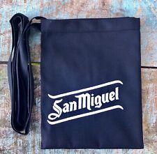 San Miguel Kellnerschürze schwarz Vorbinder Kochschürze Halbschürze Bistro Neu
