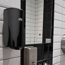 High Speed  Automatic Hand dryer  1150w Black Bathroom Wall Mounted Dryer