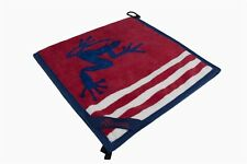 Frogger Amphibian USA Patriot Flag Golf Towel, Red White Blue Free Champ Tees