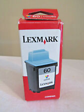 NEW Lexmark 60 Color Printer Cartridge