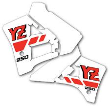 YZ250 1988 Rad & Tank Decals Graphics Stickers YZ 250