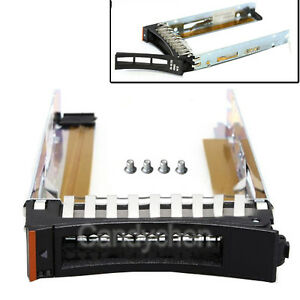 "2.5"" Drive Caddy Tray For 44T2216 IBM X3850 X3950 X5 X3200 X3250 M3 HS12 HS22"