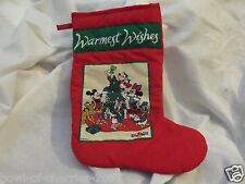 """Disney Mickey for Kids Christmas Stocking, About 20"""" Top to Toe Tip"""