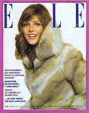 ▬►ELLE 1255 de 1970 BRIGITTE BARDOT_LA CALLAS_JEAN-CLAUDE KILLY_MODE FASHION
