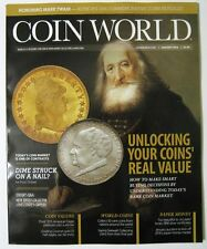 COIN WORLD Magazine January 2016 - Unlocking Your Coins Real Value - New