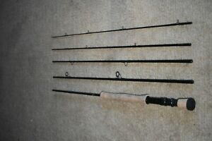 WINSTON-5pc, 9-7, Joan Wulff Fav.,Saltwater Fly-Fishing Rod, 4 1/8 oz USED ONCE!