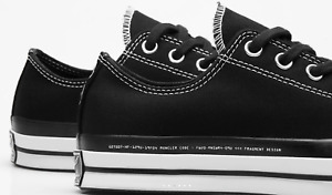 7 Moncler Fragment + Converse Chuck 70 Ox Canvas Sneakers Schuhe Low Top New 40