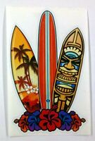 "Surf Boards Hawaii sticker decal 3.8""x6.1"""