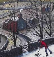 Tin Mine Walk :  Original BEST Oil Painting  Famous Artist James Downie