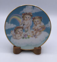 1995 Hamilton Collection Dreamsicles, Plate- Blossoms & Butterflies By Kristin