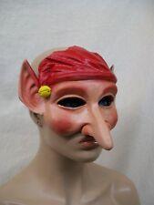 Creepy Elf Mask Long Nose Fantasy Cosplay Fairy Gnome Dwarf Pinocchio Christmas