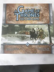 A Game Of Thrones - The Card Game. 2-4 Players - Fantasy Flight  Board Game